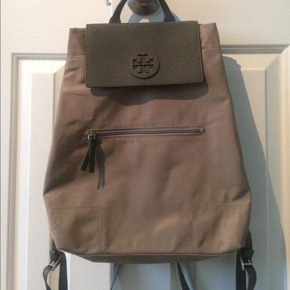 ac91a5b3a4b3 Tory Burch Ella packable backpack. M 5ab92245d39ca27d226f6c83